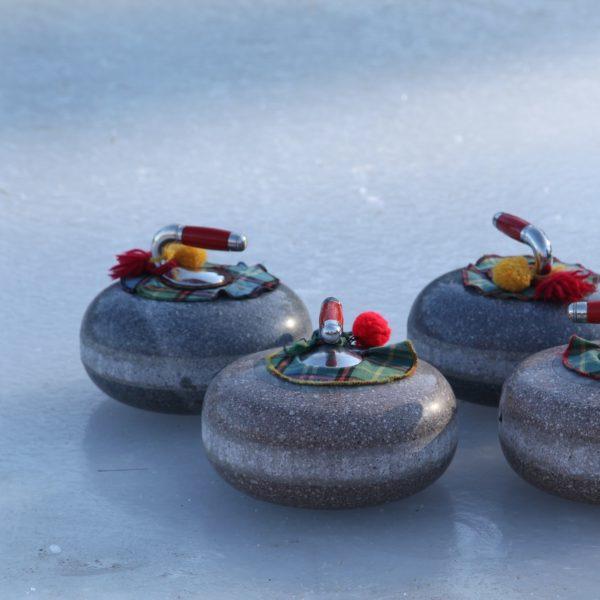 Voor de vierde keer Curling in Oirschot tijdens het Winterparadijs