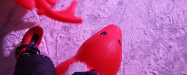 Apetrots op de 11e editie van het Oirschot Winterparadijs