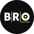 BRO belettering
